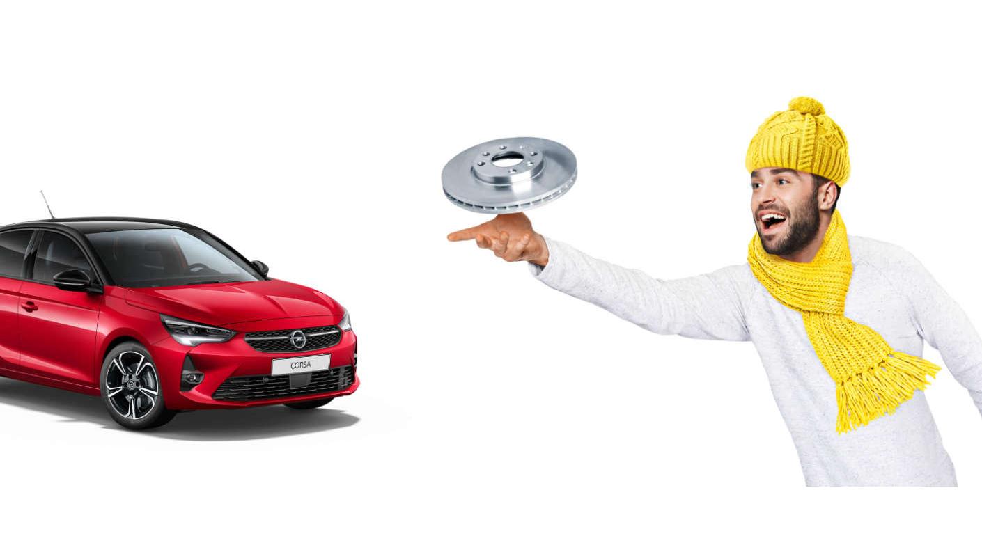 Готуємося дозимового сезону— звигодою −20%: спеціальні ціни назапчастини для автомобілів OPEL