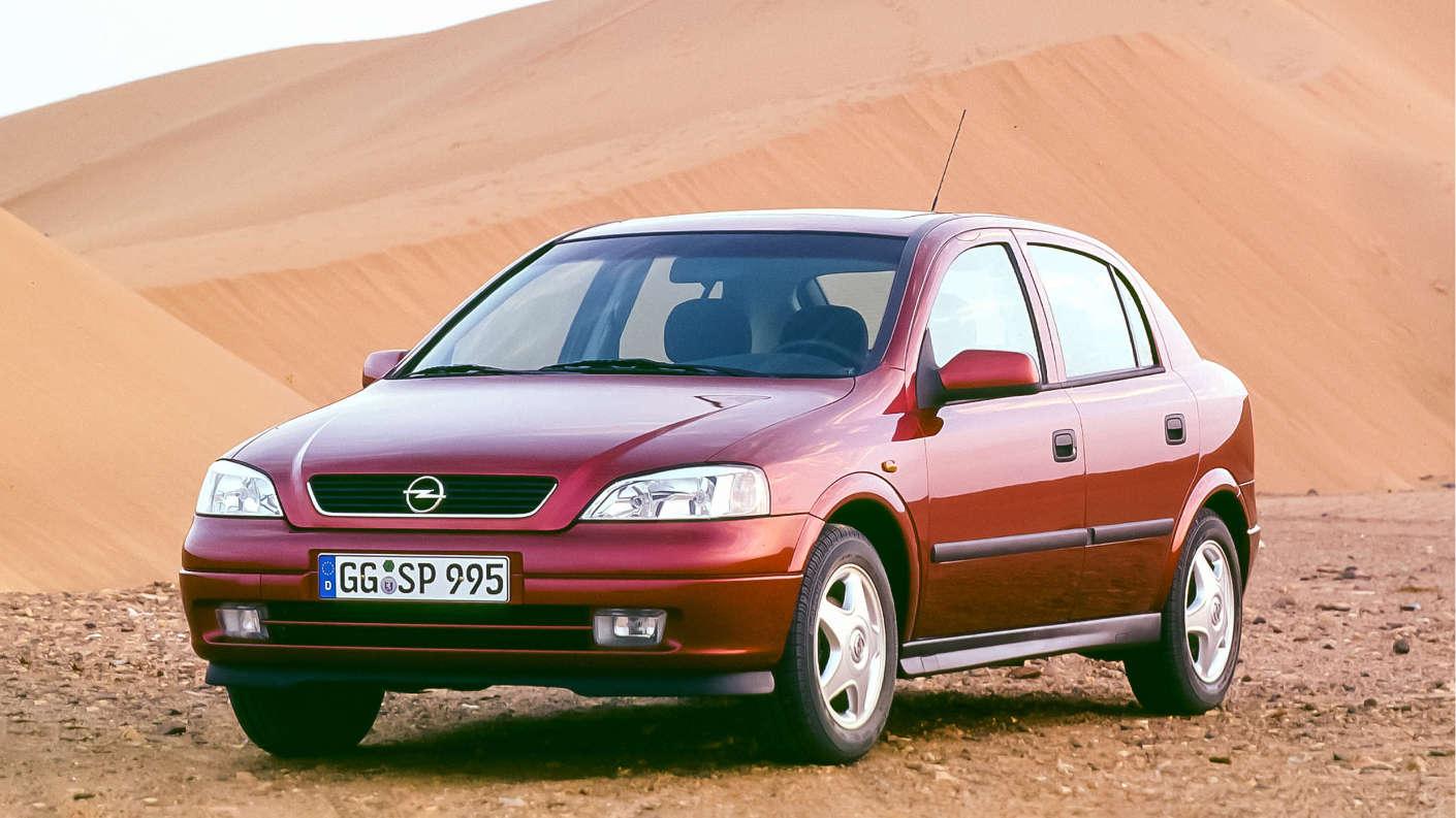 Opel Astra G зразка 1997 року