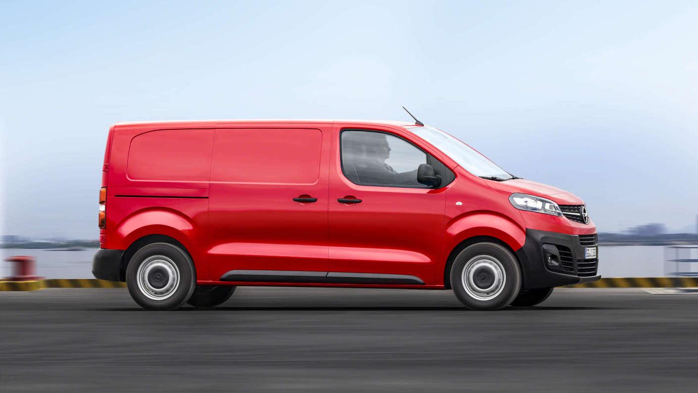 Opel Vivaro, зовнішній вигляд, вигляд збоку