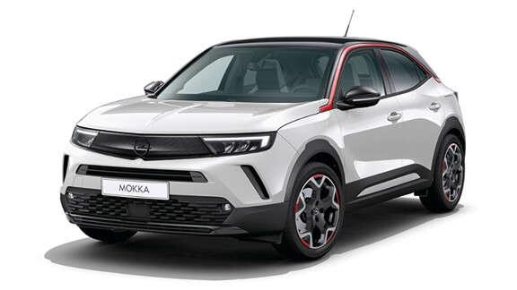 Opel Mokka, зовнішній вигляд, комплектація GSLine