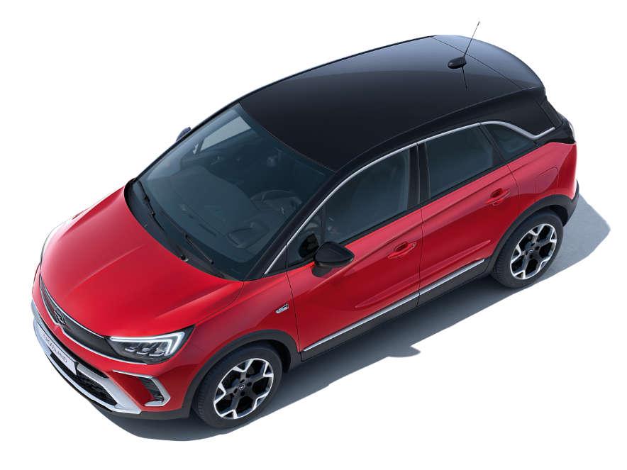 Opel Crossland, дах чорного кольору