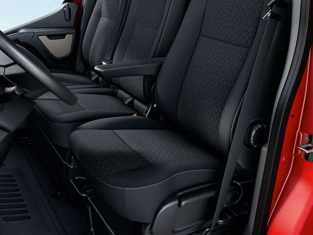 Opel, Movano, комфорт, зручні сидіння